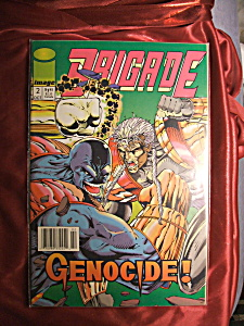 BRIGADE ISSUE #2 GENOCIDE! comic book. (Image1)