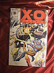 X-O Manowar No. 18 comic book. (Image1)