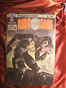 Riot Gear #6 #1535 Of 18,000 Comic Book