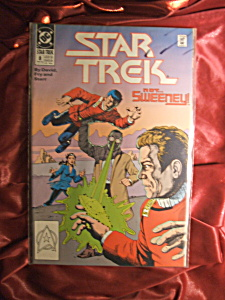 STAR TREK (1989) #8 Comic Book (Image1)