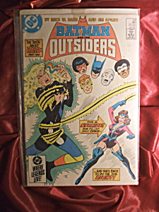 Batman And The Outsiders #20. Comic Book.