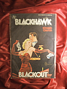 BLACKHAWK BLACKOUT IRON DREAMS AND BLOODY MURDER COMICS (Image1)
