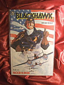 Blackhawk Book 1 Blood And Iron Comic Book.