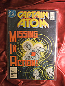 Captain Atom #4 Missing In Action . Comic Book.