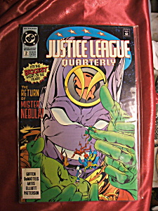 Justice League of America #2 comic book. (Image1)