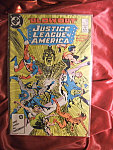 Justice League of America #254 Blowout. Comic book. (Image1)