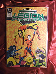 Legion of Super-heroes #43 comic book. (Image1)