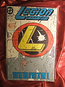 Legion of Super-heroes # 12 Rebirth!  Comic book. (Image1)