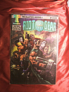 Riot Gear #2  436 of 20,000. Comic book. (Image1)