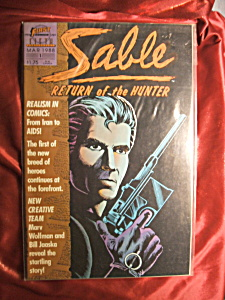 Sable Return of the Hunter #1.  Comic book. (Image1)