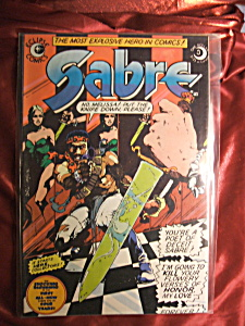 Sabre #3 comic book. (Image1)