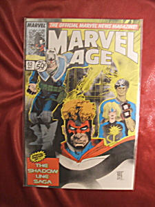 Marvel Age #62 The Official Marvel News Magazine (Image1)