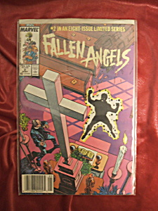 Fallen Angels #2 comic book. 2 of 8 in limited series. (Image1)