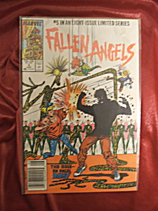 Fallen Angels #5 comic book. 5 of 8 in limited series. (Image1)