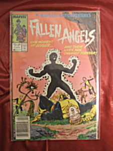 Fallen Angels #1 comic book. 1 of 8 in limited series. (Image1)