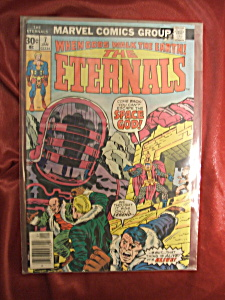 The Eternals #7 comic book. (Image1)