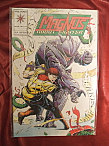 Magnus Robot Fighter #34 comic book. (Image1)