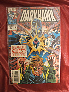 Darkhawk #40 comic book. (Image1)