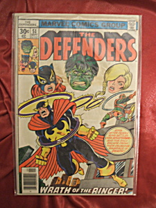 The Defenders #51 comic book. (Image1)