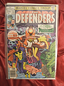 The Defenders #55 comic book. (Image1)
