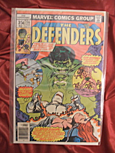 The Defenders #56 comic book. (Image1)