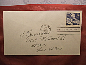 Franklin D. Roosevelt 20 cent stamp 1st day of issue (Image1)