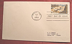 John Wesley Powell 6c stamp 1969 1st day of issue (Image1)