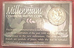 Millenium Commemorative Coin from Republic of Somalia (Image1)