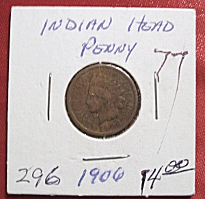 Indian Head Penny 1906 (Image1)