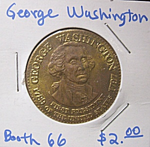 George Washington Commemorative Token
