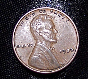 Lincoln Wheat Cent 1936 (Image1)