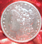 Morgan Silver Dollar 1881 O in mint condition.