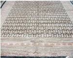 "Click here to enlarge image and see more about item 012412001: Pakistan  Uzbek Bokara Silk & Wool Rug   14'5"" x 10'7"""