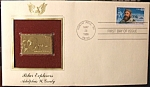 Gold Stamp Polar Explorers Adolphus W. Greely 1st day