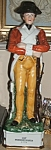 Click here to enlarge image and see more about item 020408001: Colonial Soldier Decanter 1st Pennsylvania 1775