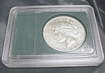 Click here to enlarge image and see more about item 021208003: 1922 S Peace Silver Dollar MS 60