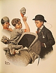 "Click here to enlarge image and see more about item 021208004: Norman Rockwell "" Home Duty"" May 20, 1916"