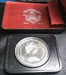 Click here to enlarge image and see more about item 021308001: Canadian 1974 Winnipeg Centennial Silver Dollar proof