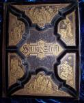 Click here to enlarge image and see more about item 022009002: Den Hellige Skrift bible, antique Scandivian 1800's.