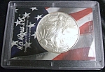 Click here to enlarge image and see more about item 030408001-1204660432: 2005 Silver American Eagle Brilliantly Uncirculated