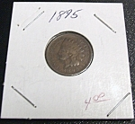 Click here to enlarge image and see more about item 032408002: Indian Head Penny 1895