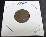 Indian Head Penny 1900