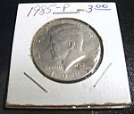 Click here to enlarge image and see more about item 040408002: Kennedy Half Dollar 1985-P