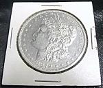 Click to view larger image of Morgan Silver Dollar 1879-O RARE MINT UNCIRCULATED. (Image1)