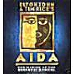 Click here to enlarge image and see more about item 040908002: Elton John & Tim Rice's AIDA. FIRST EDITION.