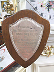 Click here to enlarge image and see more about item 040908003: 1941 Silver Plaque Bridgeville Angler's Club