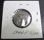 Click here to enlarge image and see more about item 041408006: Jefferson Nickel Wartime 1944-P silver