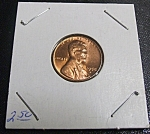 Click here to enlarge image and see more about item 041508001: Lincoln Penny 1958 D. Nice coin.