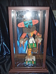 "Click here to enlarge image and see more about item 041608001: Hummingbird Kachina Doll, signed, over 14"" tall. RARE"
