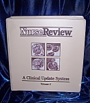 Click here to enlarge image and see more about item 060608003: NurseReview Vol. 3. hardback spiral bound medical book.
